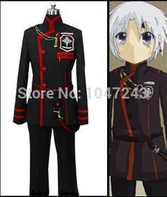 Japanese anime Cosplay D.Gray,man Cosplay Allen Walker Cosplay Costume  Comic,Con Suit , Any Size(Free Shipping)