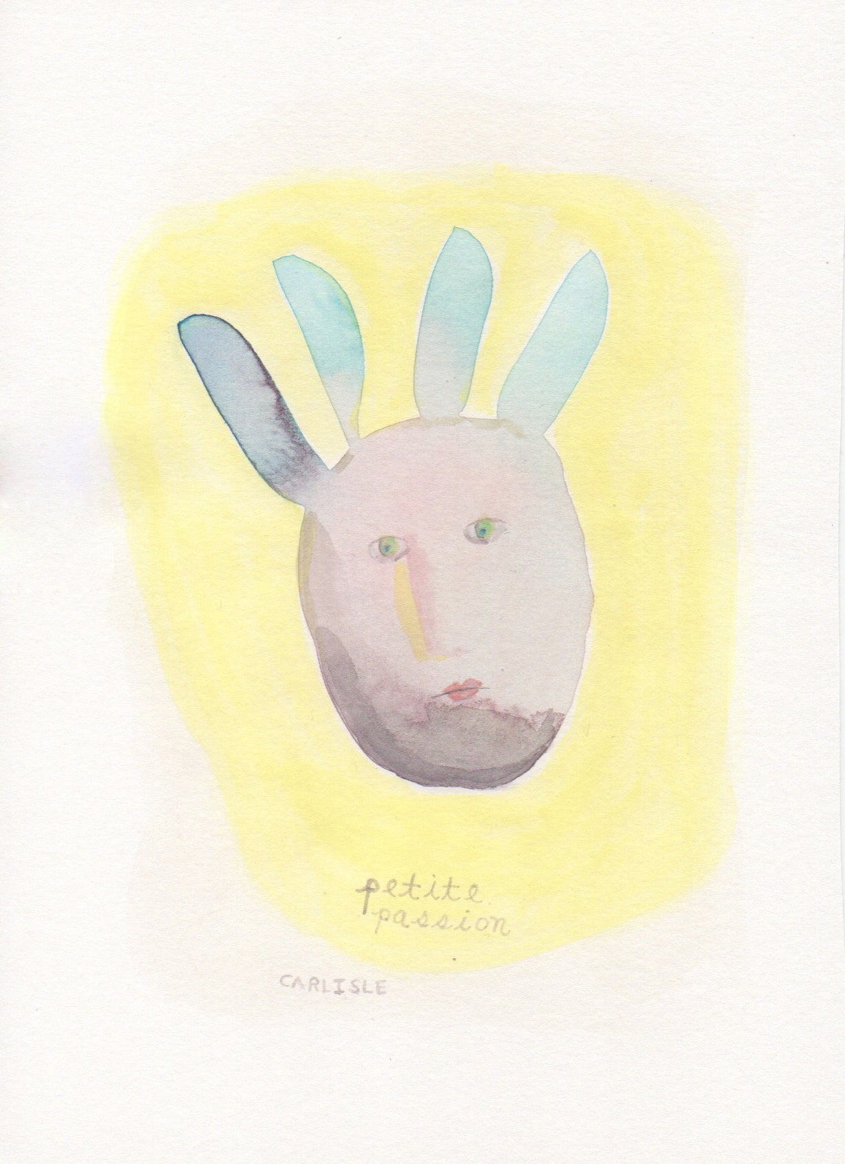 Letters to a Friend Watercolor #1