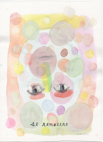 Letters to a Friend Watercolor #5