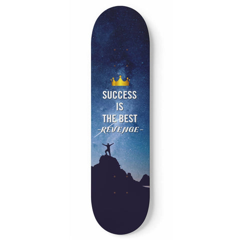 Custom Designed 1 Skateboard Success Wall Art
