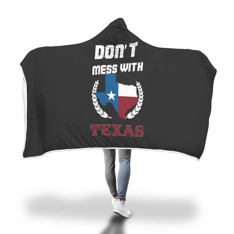 Custom Designed Texas Hooded Blanket