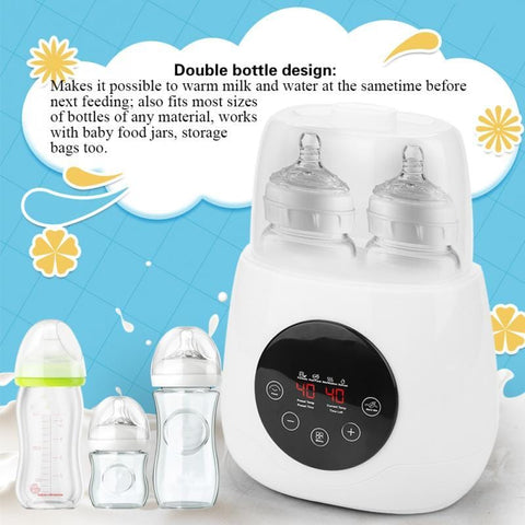 5 in1 Universal Double Bottle Sterilizer