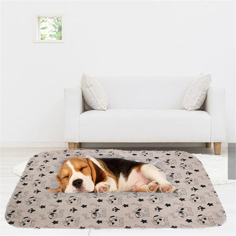 Three layer pet dog foot pad waterproof
