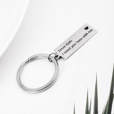 Drive Safe Key Chain