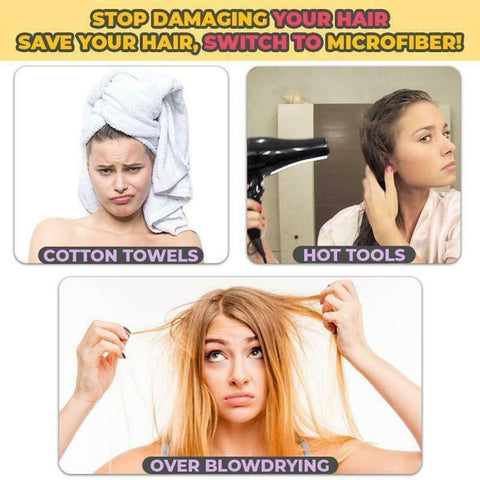 Magic Microfiber Hair Fast Drying Dryer Towel