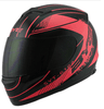 Image of Unisex-Adult's Full-Face Style  Bluetooth Integrated Motorcycle Helmet with Graphic