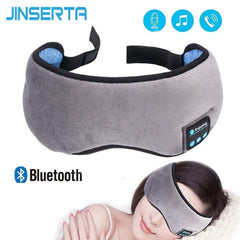 Wireless Stereo Bluetooth Earphone Sleep Mask 5.0 Bluetooth Sleep Soft Earphones Support Handsfree Sleeping Eye Mask