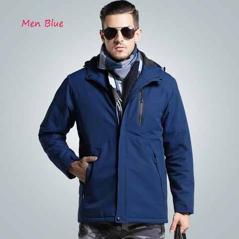 Winter Thick USB Heating Cotton Jackets