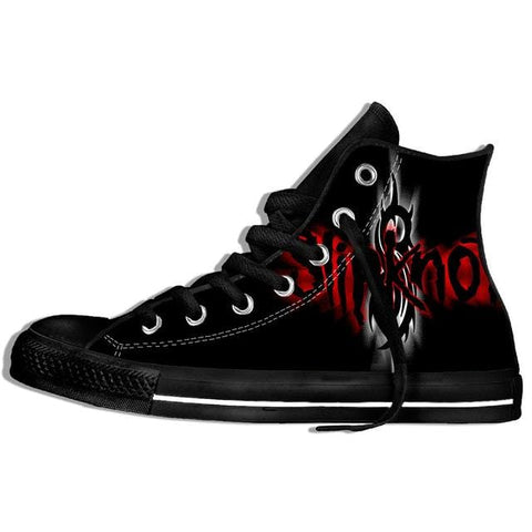 2019 Hot Fashion Printing hIgh top Sneakers Slipknot Unisex Lightweight Casual Shoes