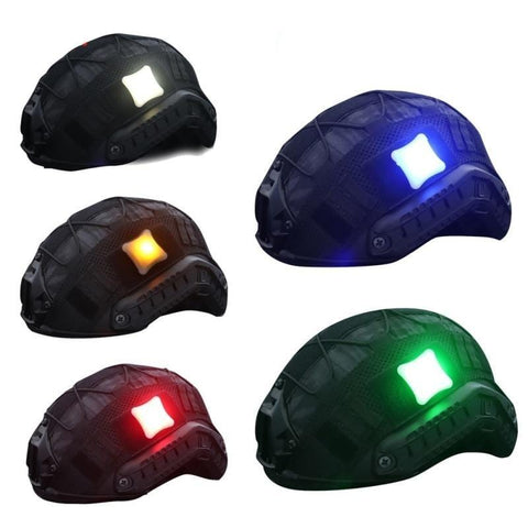 Outdoor Tactical Signal LED Light Indicators Helmet Light Survival Lamp Waterproof Military Molle Hunting Vest LED Light