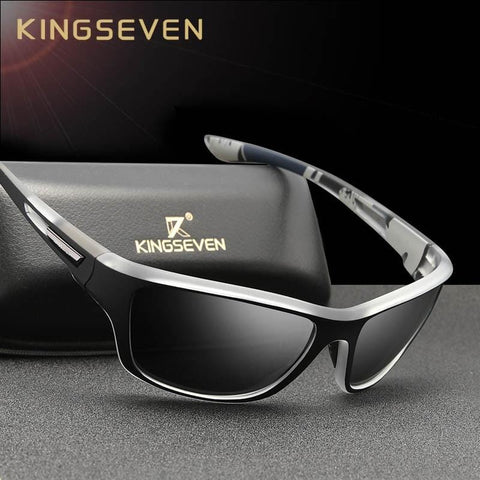 Ultralight Frame Polarized Sunglasses Men Fashion New Sports Style Square Sun Glasses Male Outdoor Travel UV Goggles