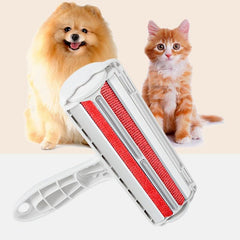 2 -Way Pets Hair Removing Products Remover Roller Sticking For Clear Dog Cat Accessories Grooming Brush From Carpets Clothing