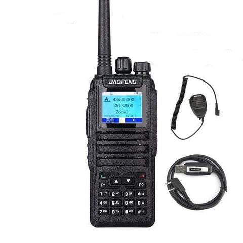 DM-5R DM-1701 DMR Portable Walkie Talkie Digital Two-Way Radio Transceiver Compatible With Moto Tier I/II