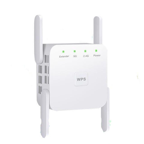 Wireless WiFi Repeater Wi Fi Booster 2.4G/5Ghz Wi-Fi Amplifier