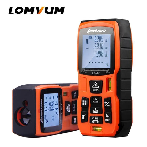 40M 60m 80m 100m Laser Rangefinder Digital Laser Distance Meter battery-powered laser range finder tape distance measurer