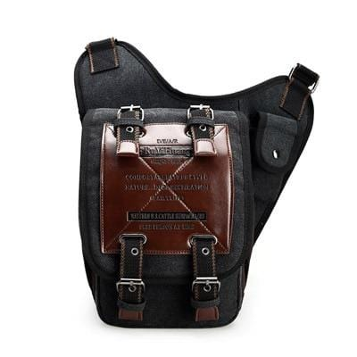 Men's Canvas Drop Leg Bag Women Waist Fanny Pack Belt Hip Bum Military Travel Motorcycle Multi-purpose Bags