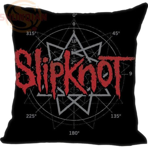 New Arrival Slipknot Logo #198 Pillowcase Wedding Decorative Pillow Case Customize Gift For Pillow CoverW&17212