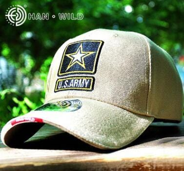 US Army Star Embroidery Baseball Caps Fashion Women Men Cotton Caps Outdoor Adult Hunting Hat Snapback Cap