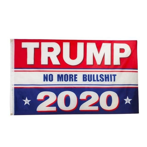Trump 2020 Flag Double Sided Printed Donald Trump Flag Keep America Great Donald For President USA
