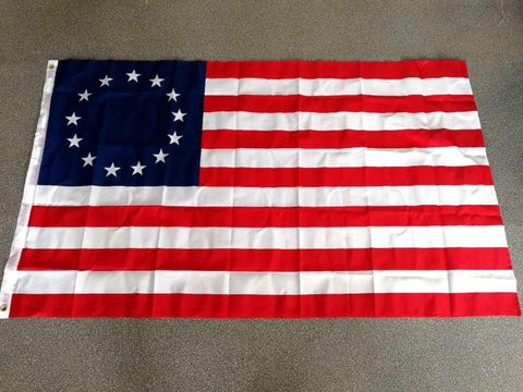 Stars and Stripes 90*150cm 13 stars us usa 1777 american Betsy Ross Flag For Decoration