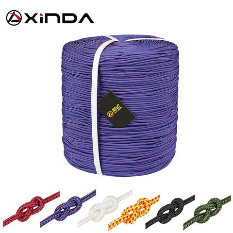 Paracord Rock Climbing Rope Accessories Cord 4mm Diameter High Strength Paracord Safety Rope Survival Equipment