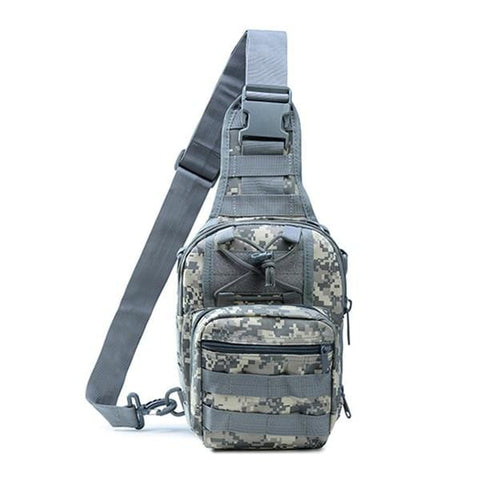 Men Women Military Bag Tactical Chest Bags Unisex Fashion Camouflage HandBags Cool Camping Hiking Travel Shoulder Bags
