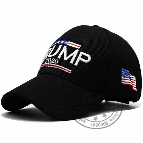 2020 Donald Trump Red Hat Re-Election Keep America Great Embroidery USA Flag MAGA New Cap Cotton Baseball Hat cap
