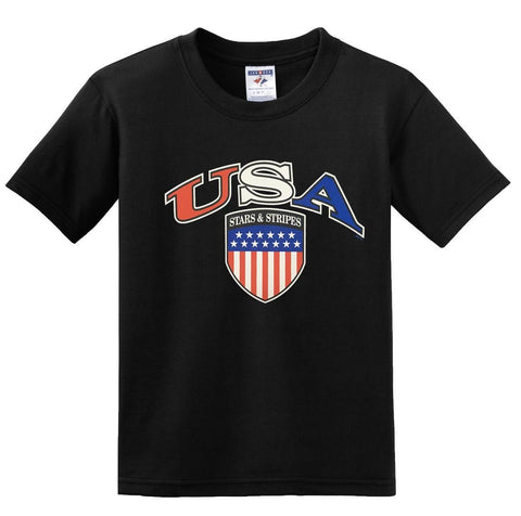 USA  AMERICAN Stars & Stripes T-shirts