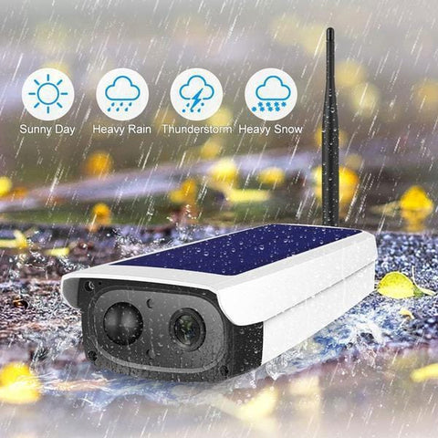 Solar Security Camera Rechargeable Battery 7650 mAh
