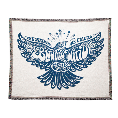 Blowin' in the Wind Tapestry Blanket