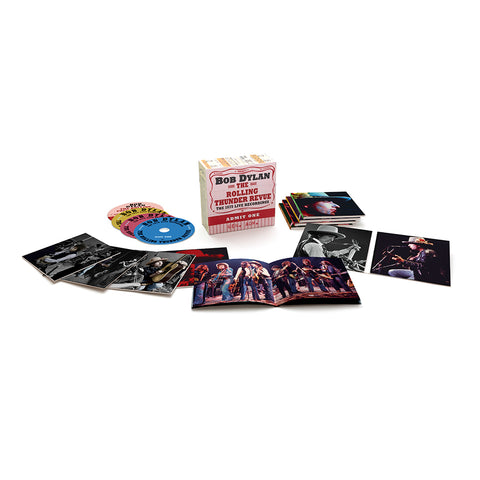 The Rolling Thunder Revue: The 1975 Live Recordings CD Boxset