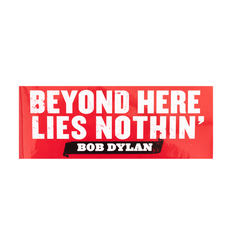 Beyond Here Bumper Sticker