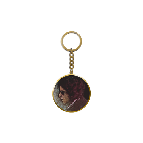 Blood on the Tracks Keyring
