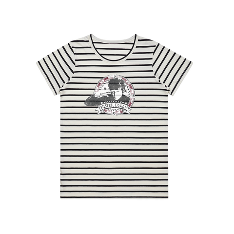 Nautical Stripe Ladies Tee