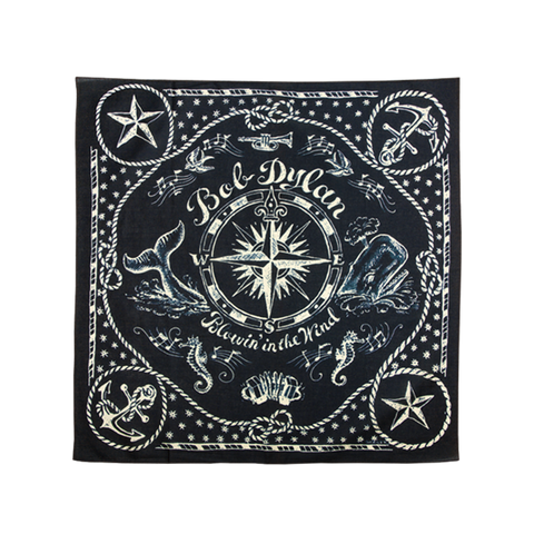 Navy Blue Nautical Bandana