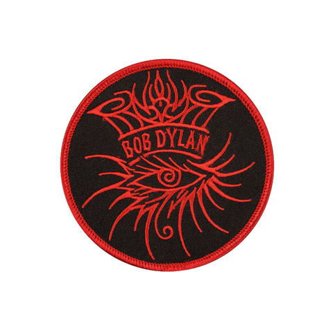 "Eye Logo 3.5"" Patch - Red"