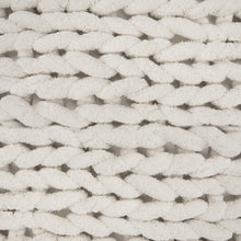 Load image into Gallery viewer, Chunky Knit Blanket Ivory