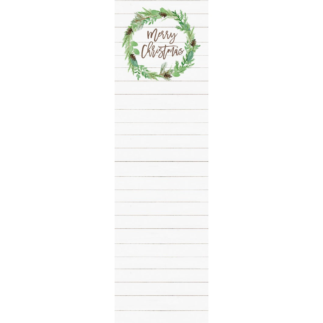 List Notepad - Merry Christmas