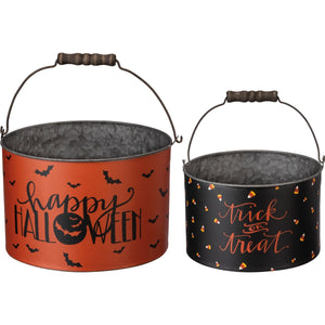 Trick or Treat Bucket Set