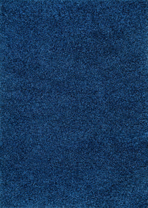 Navy Shaggy Area Rug 3x5