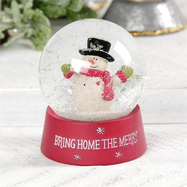 Bring Home the Merry Snowglobe