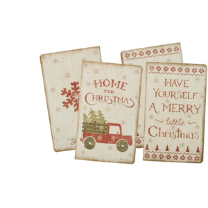 Lg Notebook Set - Home for Christmas