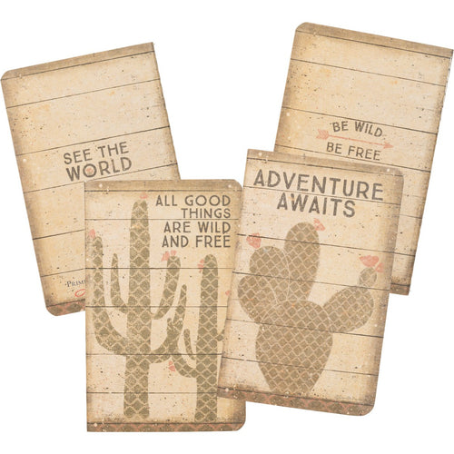 Notebook Set - Wild and Free