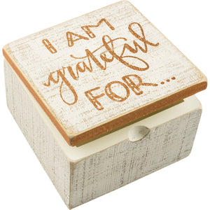 Hinged Box - I Am Grateful For…
