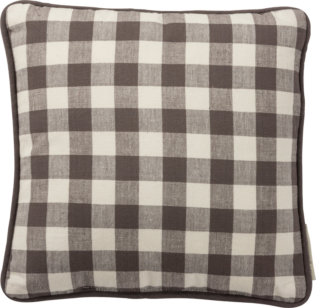 Pillow - Sm Buffalo Check