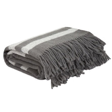 Load image into Gallery viewer, Australian Wool Blanket Throw - Platinum