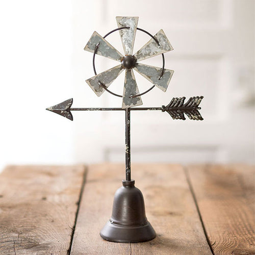 Tabletop Windmill with Arrow
