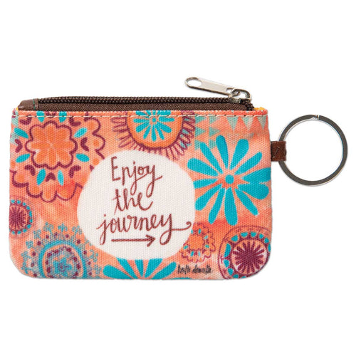 Enjoy the Journey ID Wallet Keychain