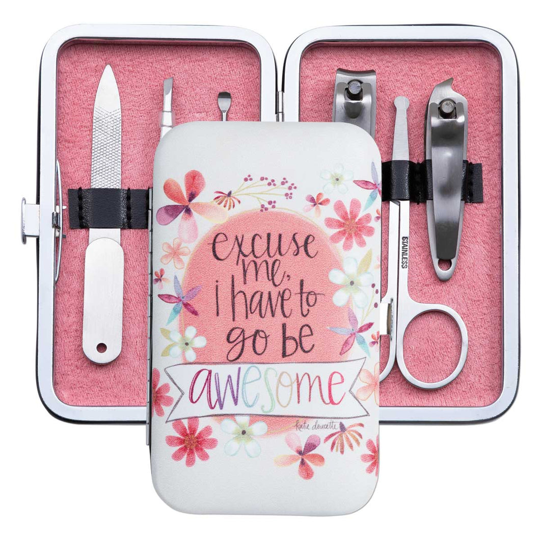 Go Be Awesome Manicure Set