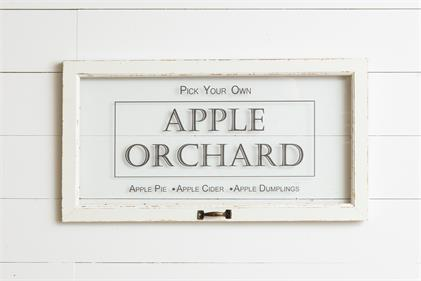 Apple Orchard Window